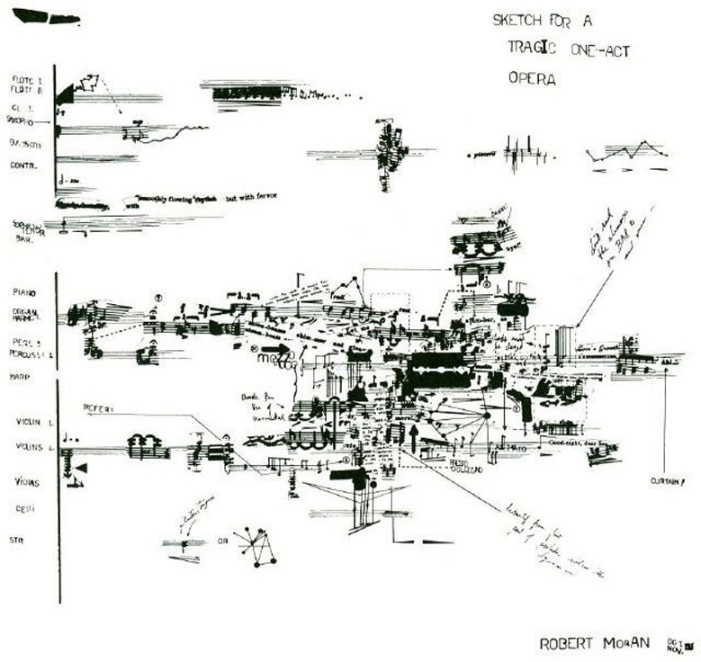 ROBERT MORAN, Sketch for a Tragic One-Act Opera (1965)