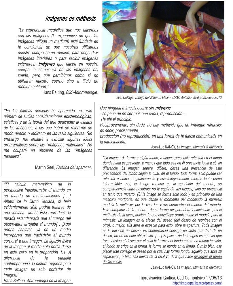 Improvosación Gráfica 170513 Imagenes de methexis