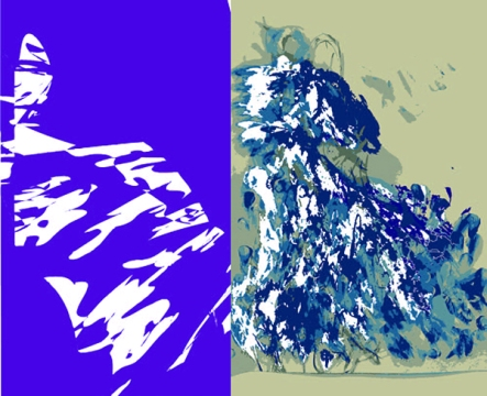 Carmen Luna Blue Mountain Imprografika 2015