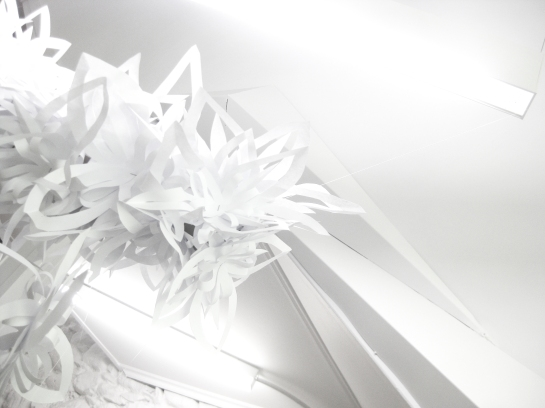 Cut Paper small installation _anthokosmos_Dorikon
